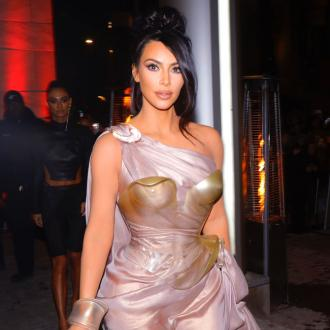 Kim Kardashian West wows in custom dress at Thierry Mugler exhibition