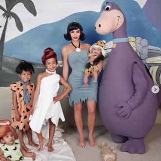 Kim Kardashian West photoshops daughter into Halloween photo