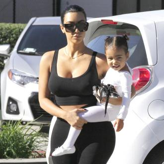 Kim Kardashian West gets North a squishy Christmas tree