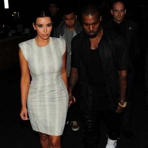 Kim Kardashian Lures Kanye West Away From Meal