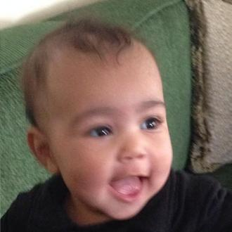 Kim Kardashian Shares Cute Pictures Of Baby North