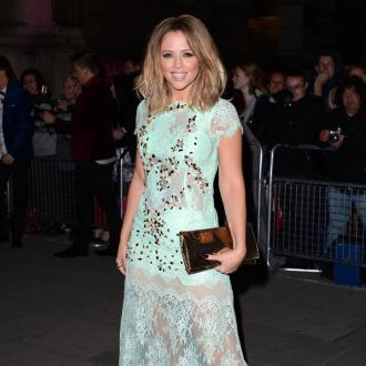 Kimberley Walsh's Baby Son Is Cutting His Teeth