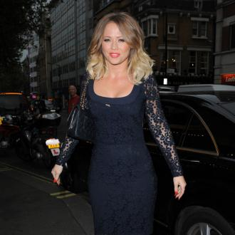 Kimberley Walsh Has Diabetes Test
