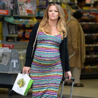 Kimberley Walsh Can't Get Up From The Sofa