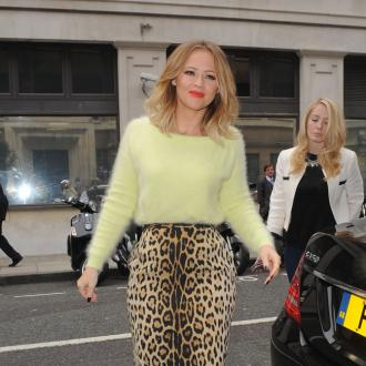 Kimberley Walsh's fat feet