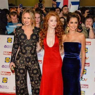 Nicola Roberts and Cheryl had 'fun' in the studio