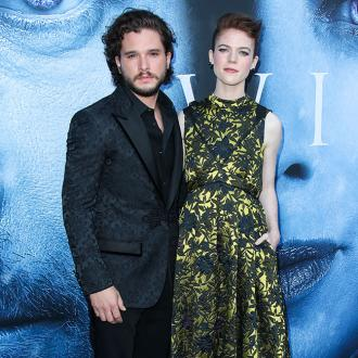 Kit Harington and Rose Leslie 'tethered' by show
