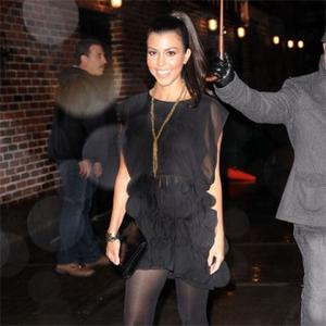 Kourtney Kardashian's Stomach Worries