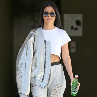 Kourtney Kardashian's relaxing mornings