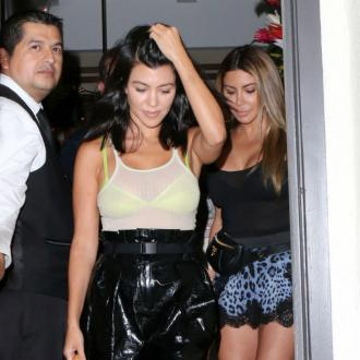Kourtney Kardashian and Younes Bendjima endure awkward reunion