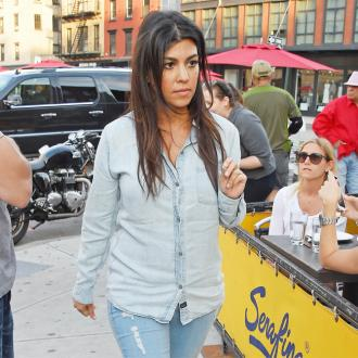 Kourtney Kardashian's Son Helping With Nursery