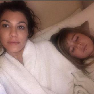 Kourtney Kardashian's daughter gets her lip pierced
