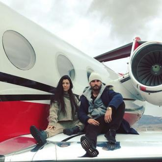 Kourntey Kardashian and Scott Disick share cute snaps from Aspen