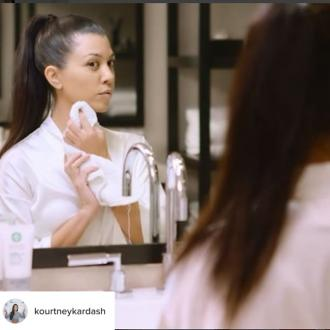 Kourtney Kardashian Does A Facial Peel 'Once A Week'