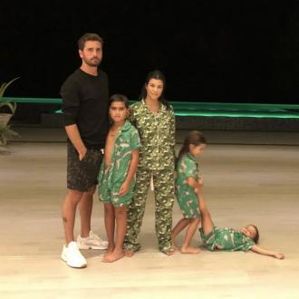 Kourtney Kardashian Spends Thanksgiving With Scott Disick