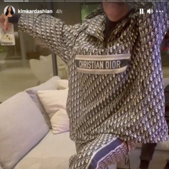 Kim Kardashian West pokes fun at mom Kris Jenner for wearing bold Christian Dior outfit