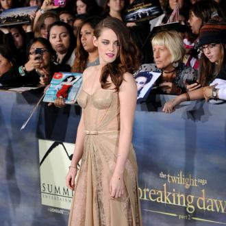 Kristen Stewart Overcome At Twilight Premiere