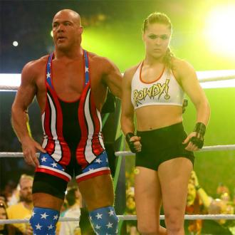 Ronda Rousey wins debut WWE fight
