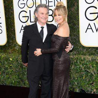 Kurt Russell and Goldie Hawn enjoy date night