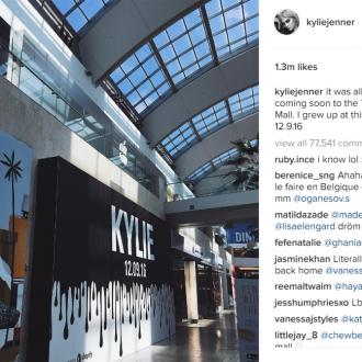 Kylie Jenner Opens Pop Up Shop In Los Angeles