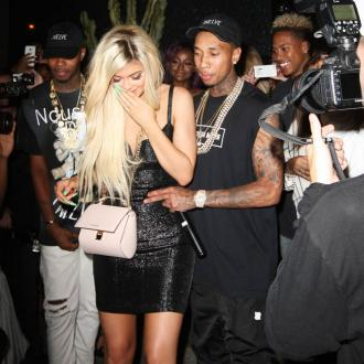 Kylie Jenner Gifts Tyga Diamond Bracelet For Birthday