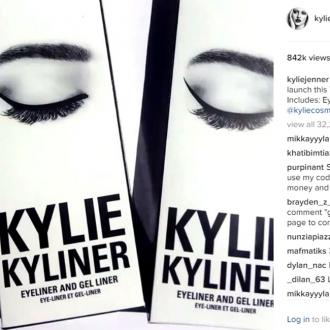 Kylie Jenner will launch new eyeliner kits to Kylie Cosmetics tomorrow