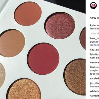 Kylie Jenner will launch a new 'burgundy' eye-shadow palette this week