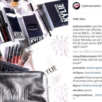 Kylie Jenner will restock the Holiday Edition this week