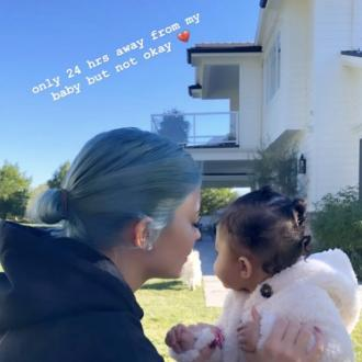 Kylie Jenner 'not okay' after time away from baby