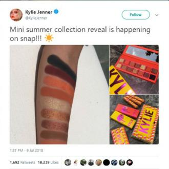 Kylie Jenner Unveils New Line