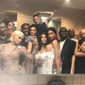 Kylie Jenner takes celeb-filled selfie at the Met Gala