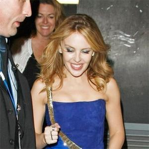 Pub Pop Star Kylie Minogue