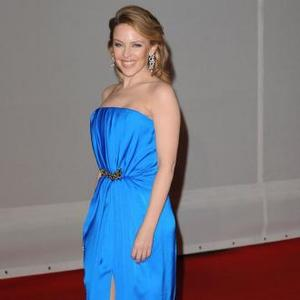 Kylie Minogue Recording Songs At Abbey Road