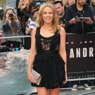 Kylie Minogue: I'm happy in undies at 47