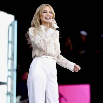 Kylie Minogue 'did an Adele' and re-watched Glasto set