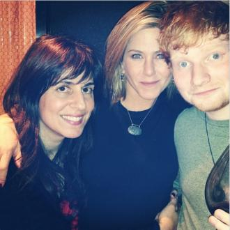 Jennifer Aniston's Thanksgiving With Ed Sheeran