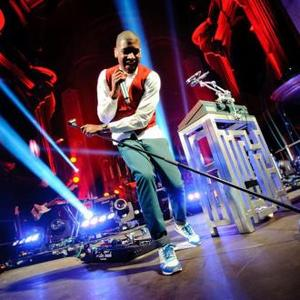 Labrinth Smashes Guitar During Album Launch