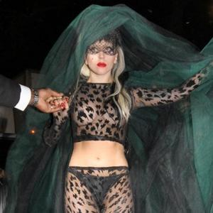 Lady Gaga's Versace Vow