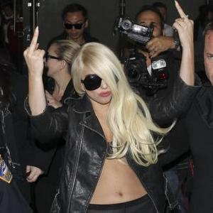 Lady Gaga Dines On Oysters For Anniversary