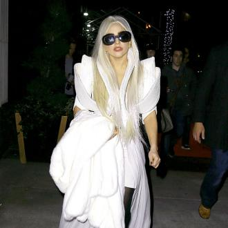 Hip-py Birthday, Lady Gaga: Star Spends 27th Birthday In Golden Wheelchair After Hip Surgery