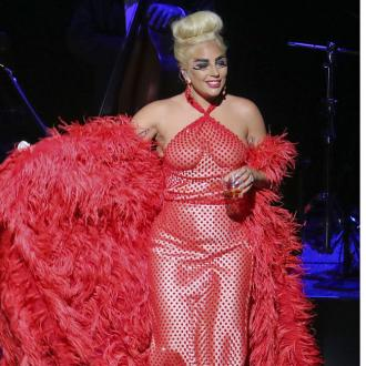 Lady Gaga's Sister Designs Dress