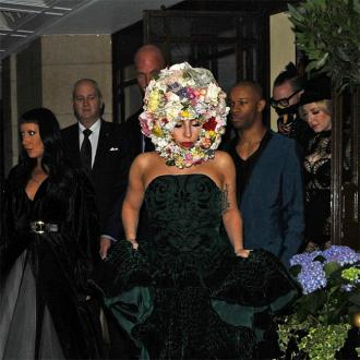 Lady Gaga Opens Philip Treacy's Lfw Show