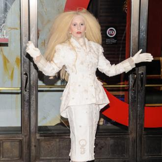 Lady Gaga Dresses As White Witch