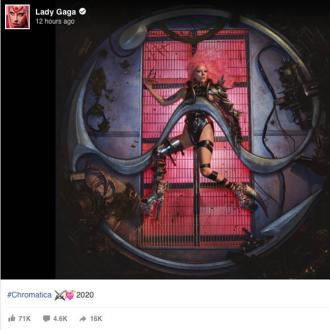 Lady Gaga unveils artwork for delayed LP Chromatica