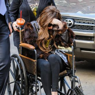 Lady Gaga Ditches Wheelchair