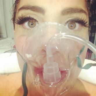 Lady Gaga Hospitalised