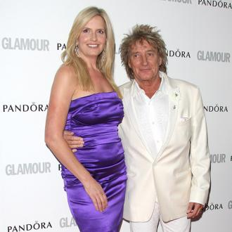 Sir Rod Stewart has big Christmas party