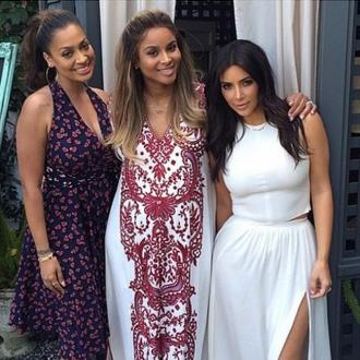 Ciara celebrates baby shower with Kim Kardashian