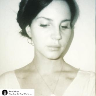 Lana Del Rey teases new music on social media