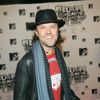 Lars Ulrich makes his kids rock
